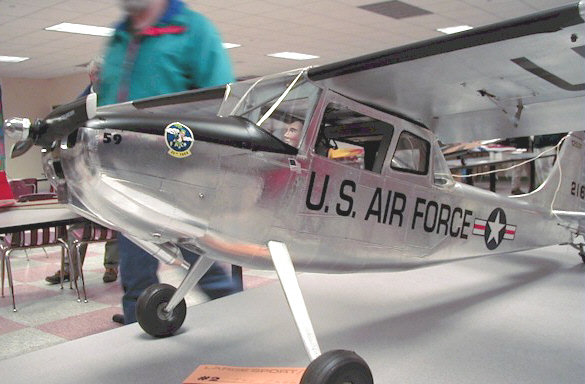 Ted Zaborski's L-19 Bird dog
